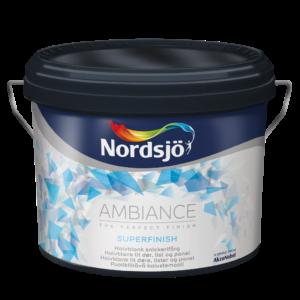 Halvmatt snickerifärg Nordsjö