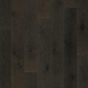 Mörkbrunt trägolv
